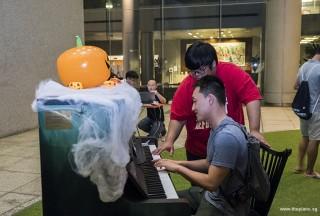 Pianovers Meetup #99 (Halloween Themed), Eric Tian, and Zafri Zackery #2