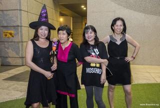 Pianovers Meetup #99 (Halloween Themed), Karen Aw, Lim Ee Fong, Tan Chia Huee, and May Ling