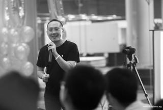 Pianovers Meetup #100 (Celebratory Themed), Sng Yong Meng thanking everyone