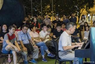 Pianovers Meetup #100 (Celebratory Themed), Gavin Koh performing