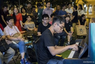 Pianovers Meetup #100 (Celebratory Themed), Kendrick Ong performing