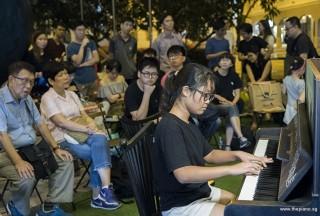 Pianovers Meetup #100 (Celebratory Themed), Erika performing