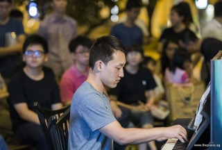 Pianovers Meetup #100 (Celebratory Themed), Eric Tian performing