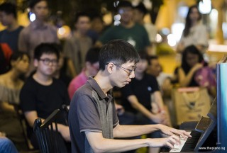 Pianovers Meetup #100 (Celebratory Themed), Jonathan Lam performing