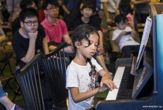 Pianovers Meetup #100 (Celebratory Themed), Mentari performing