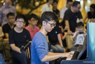 Pianovers Meetup #100 (Celebratory Themed), Max Zheng performing