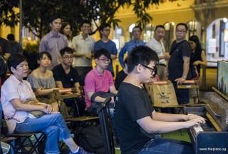 Pianovers Meetup #100 (Celebratory Themed), Xavier Hui performing