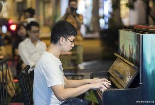 Pianovers Meetup #101, Chia Ming Hao performing