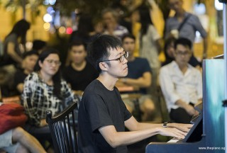 Pianovers Meetup #101, Kenneth Guan performing