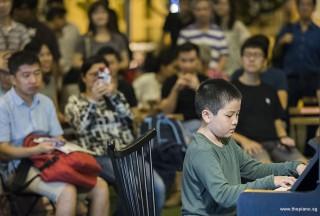 Pianovers Meetup #101, Lau Si An performing