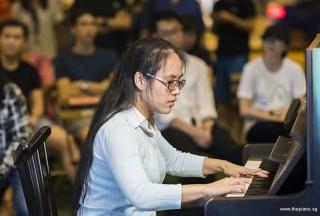 Pianovers Meetup #101, Ashley Nguyen performing