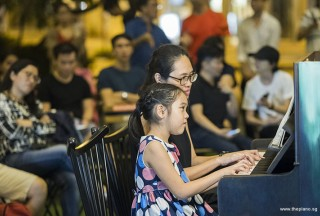 Pianovers Meetup #101, Joanne Tan, and Amilyn Ong performing
