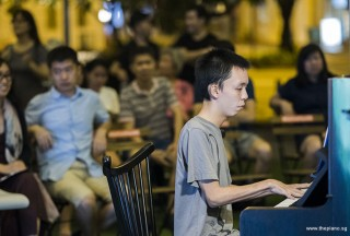 Pianovers Meetup #101, Yan Heng performing