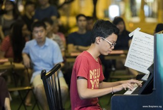 Pianovers Meetup #101, Jaiden Soh performing