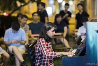 Pianovers Meetup #101, Jeslyn Peter performing