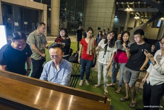 Pianovers Meetup #101, Yu Teik Lee playing