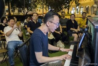 Pianovers Meetup #102, Yu Teik Lee performing for us
