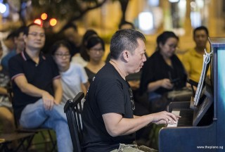 Pianovers Meetup #102, Gavin Koh performing