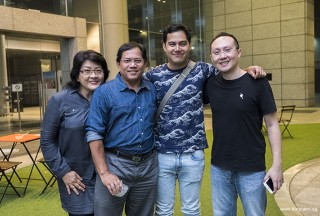 Pianovers Meetup #102, Rashidah Yahya, Ismail Hussein, Benyamin Nuss, and Sng Yong Meng