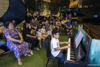 Pianovers Meetup #103, Wesley Chang performing