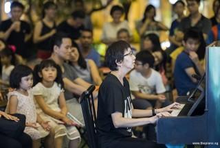 Pianovers Meetup #103, Pek Siew Tin performing