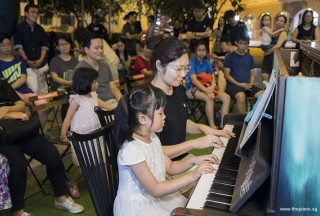 Pianovers Meetup #103, Ellie, and Ng Mun Yee performing