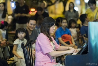 Pianovers Meetup #103, Tan Chia Huee performing