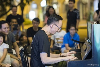 Pianovers Meetup #103, Yu Teik Lee performing