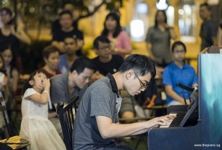 Pianovers Meetup #103, Kendrick Ong Bing Shao performing