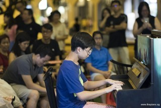 Pianovers Meetup #103, Shane Tan performing