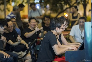 Pianovers Meetup #103, Hiro, and Li Zhijing performing
