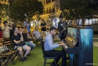 Pianovers Meetup #103, Peter Prem, and Joshua performing
