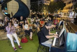 Pianovers Meetup #104, Gavin Koh performing