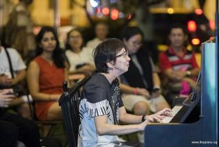 Pianovers Meetup #104, Pek Siew Tin performing