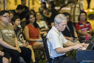 Pianovers Meetup #104, Albert Chan performing