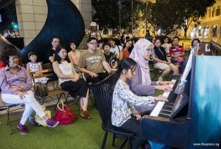 Pianovers Meetup #104, Mentari, and Desiree performing