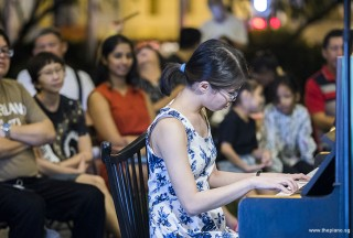 Pianovers Meetup #104, Janice Liew performing