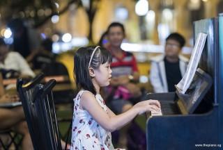 Pianovers Meetup #104, Ellie Yang Zi Xuan performing
