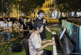 Pianovers Meetup #105, Lim Ee Fong, and Pek Siew Tin performing