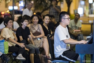Pianovers Meetup #105, Tea Zhi Yuan performing