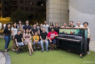 Pianovers Meetup #105, Group picture