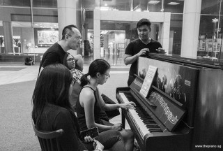 Pianovers Meetup #105, Tabitha Gan playing