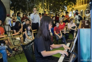 Pianovers Meetup #106 (Christmas Themed), Wang Yiting performing