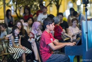 Pianovers Meetup #106 (Christmas Themed), Dhafin Rizaldi performing