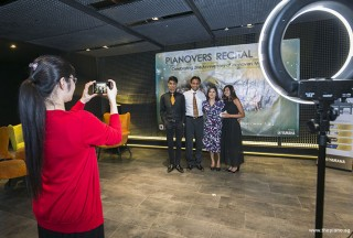 Pianovers Recital 2018, Ng Mun Yee, Peter Prem, Joshua Peter, Leena, and Jeslyn Peter