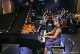 Pianovers Recital 2018, Erika Iishiba performing #1
