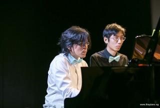 Pianovers Recital 2018, Teh Yuqing, and Jonathan Lam performing #4