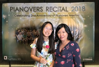 Pianovers Recital 2018, Charmaine Cher, and Herlina Ong #2