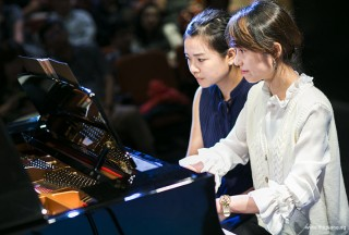Pianovers Recital 2018, Jasmine Khoo, and Janel Chua performing #2