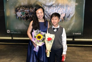 Pianovers Recital 2018, Pauline Tan, and Shawn Lee